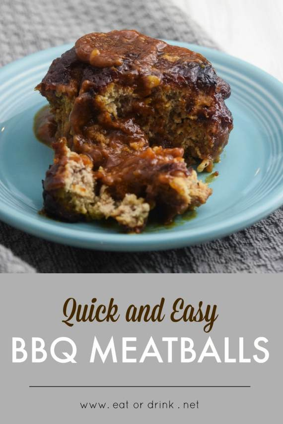 quick and easy bbq meatballs