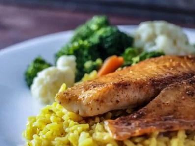 quick weeknight dinner sweet orange tilapia