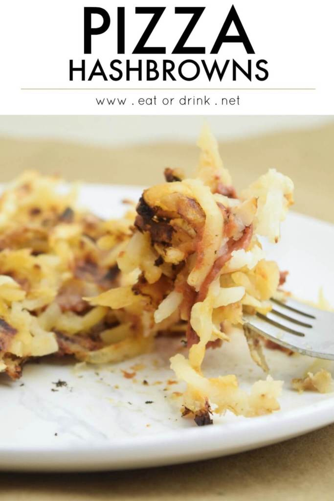 dairy free pizza hash brown