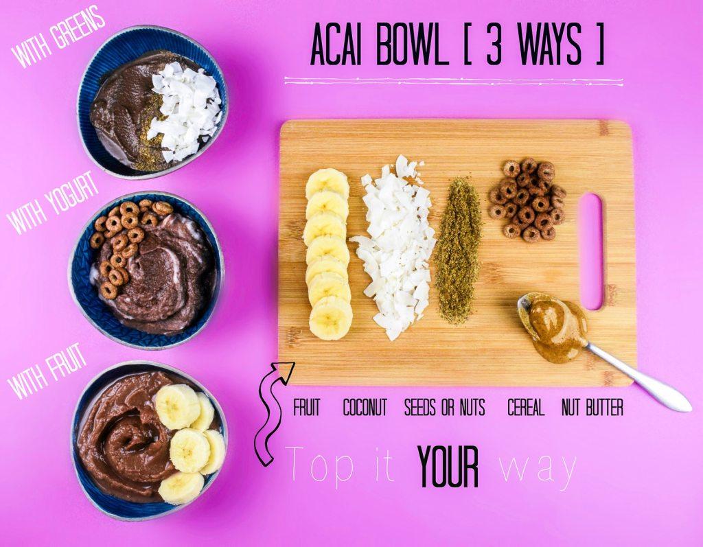 vegan acai bowls