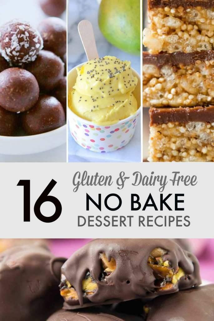 16 gluten dairy free no bake dessert recipes