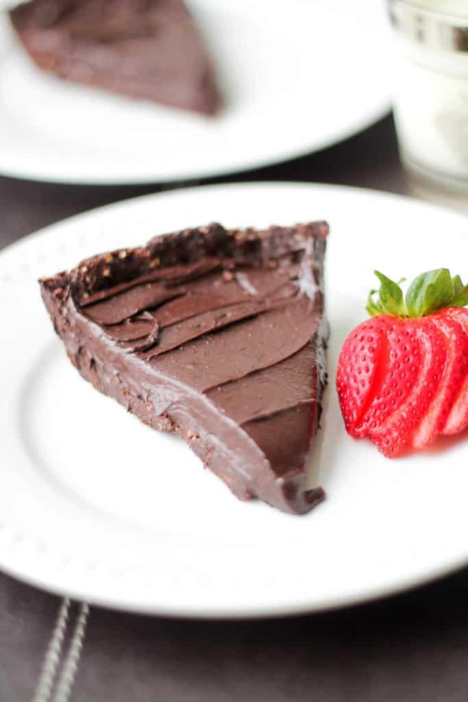 double chocolate hazelnut torte no bake dessert