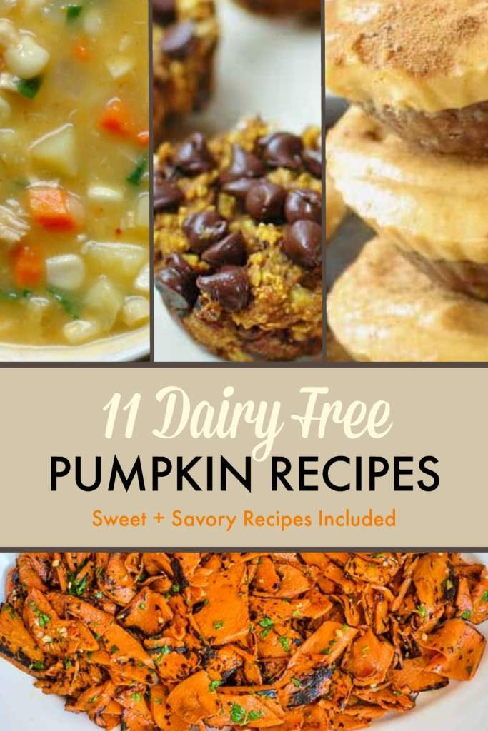 11 dairy free pumpkin recipes sweet savory gluten free egg free