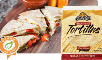 food for life brown rice tortillas as pictured on their website