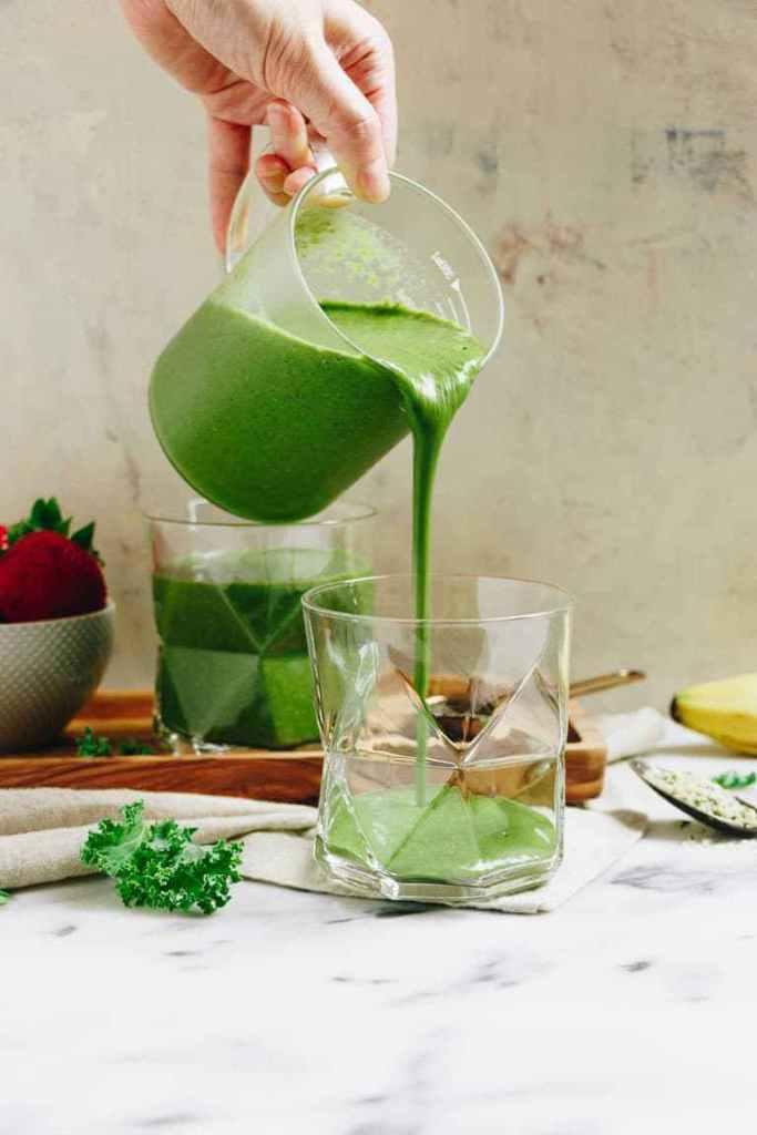 gluten free vegan breakfast paleo green smoothie