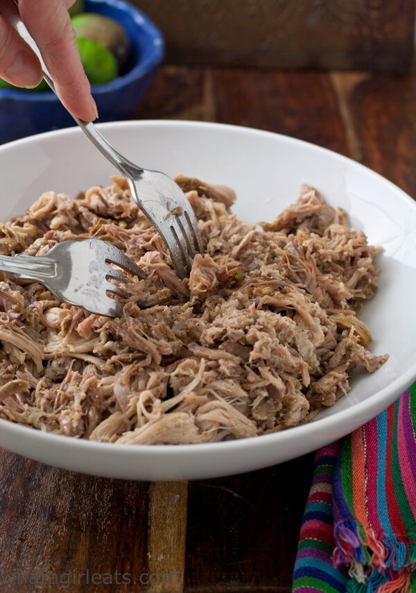 gluten free slow cooker green chile pork