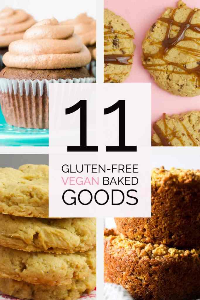 11 gluten free vegan baked goods