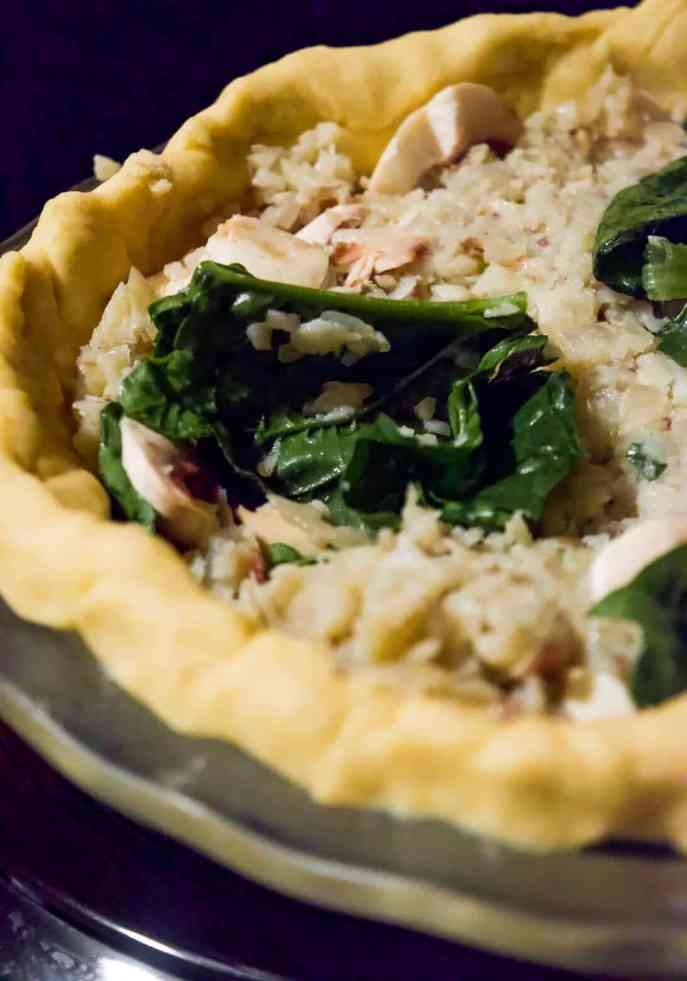 how to make an egg free vegan quiche
