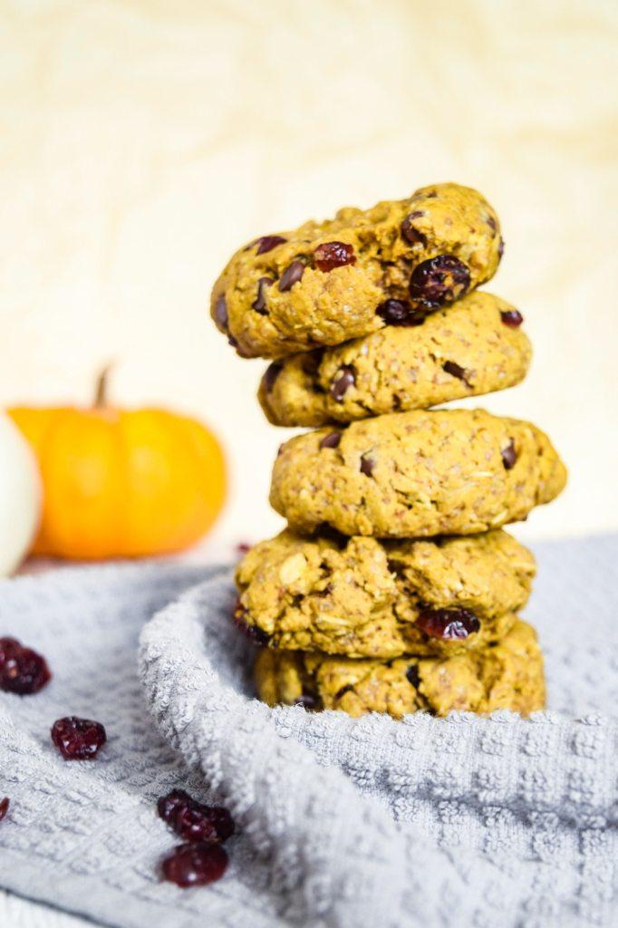 gluten free and vegan pumpkin breakfast cookie