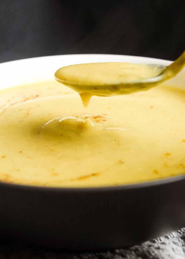 vegan delicious acorn squash soup that's easy to make