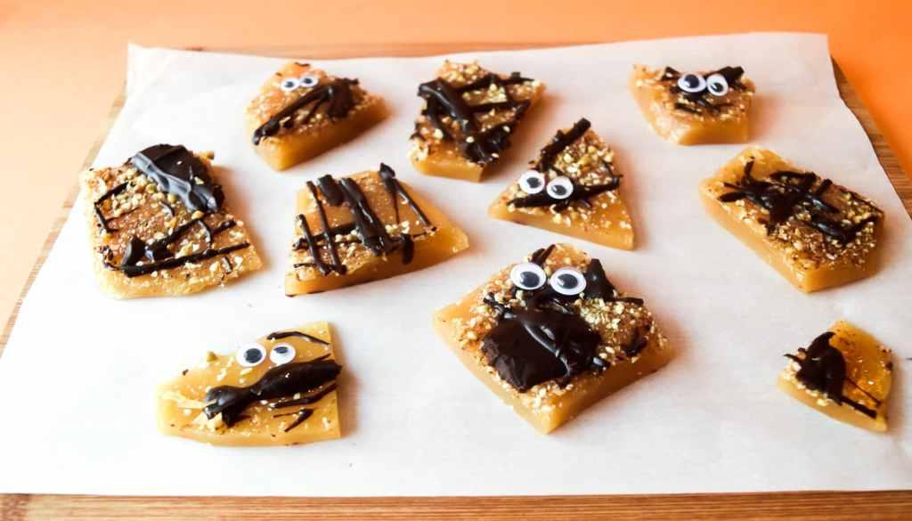 vegan heath bar brittle kids with food allergies candy