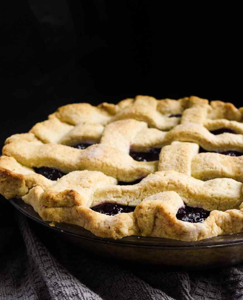 perfect gluten free cherry pie