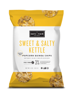 sweet and salt kettle chips safe and fair product review