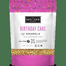 gluten free birthday cake granola review
