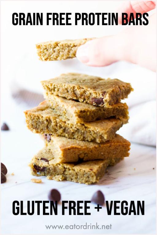 grain free protein bars