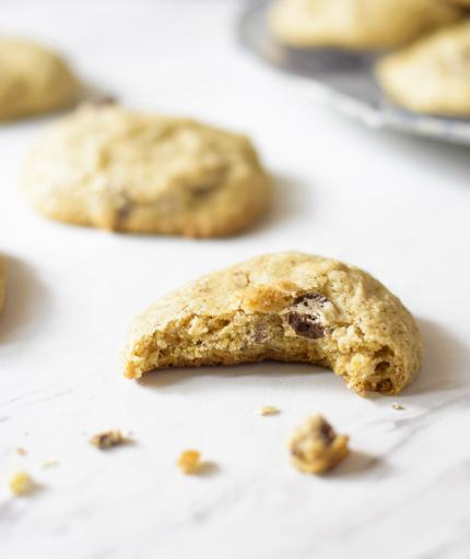gluten free vegan cookie soft and chewy