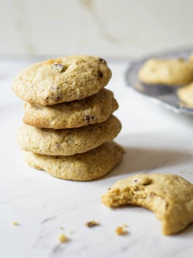 sorghum flour gluten free vegan cookie