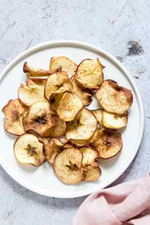 air fryer apple chips fall recipe