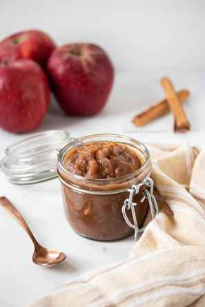 sugar free applesauce fall recipe