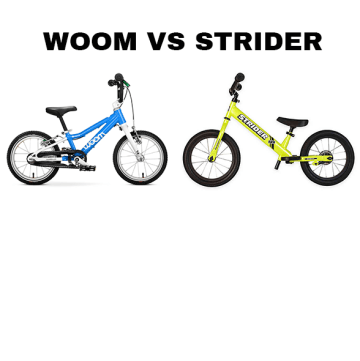 Woom vs Strider