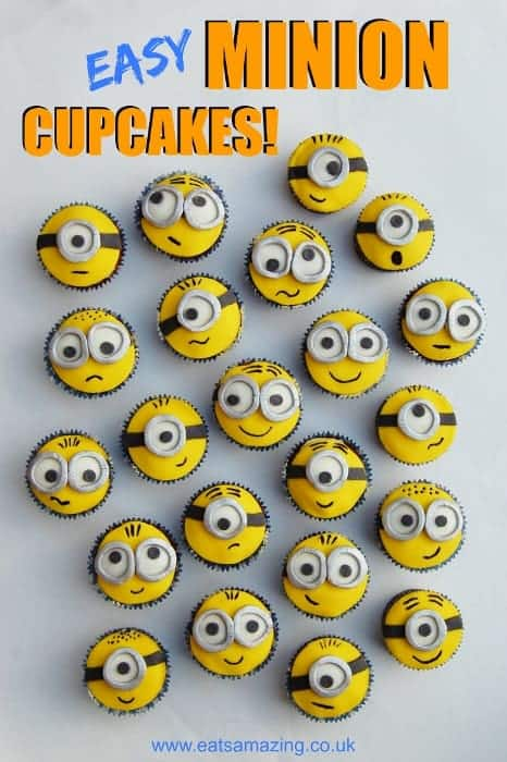Despicable Me Minion Cupcakes Amp Funfoodfriday