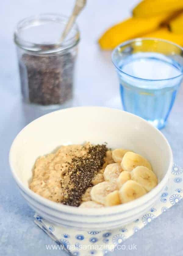 5 minute microwave porridge recipe