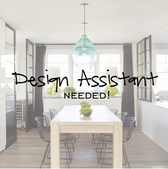 We're Hiring Again! On The Lookout For A Design Assistant! Eat