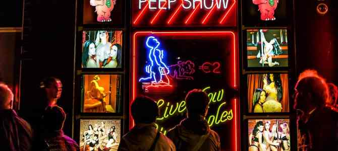 Two Minutes for Two Euro: A Peep Show in Amsterdam's Red Light District