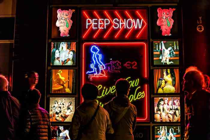 Peep Show in Amsterdam