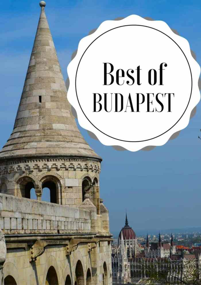 Budapest is an awesome city to explore. Don't have much time? Don't worry! Here's how to make the most out of 3 days in Budapest. #Budapest #Hungary #Europe