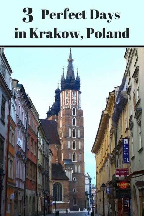 Visiting Krakow, Poland? Here are my top tips for a perfect 3 days in Krakow. #Krakow #Poland #Europe