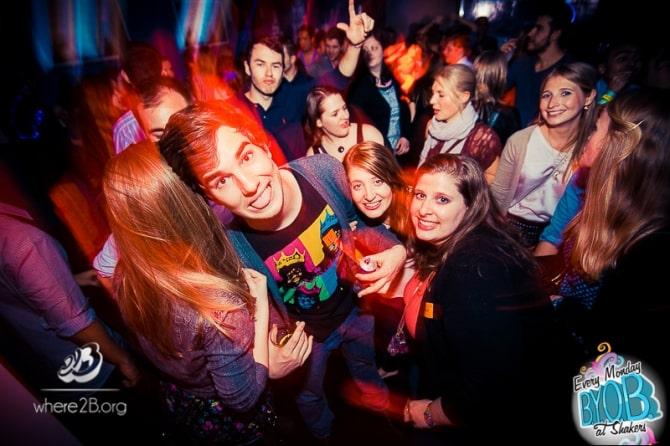 Vodka shots make for a fun night of dancing