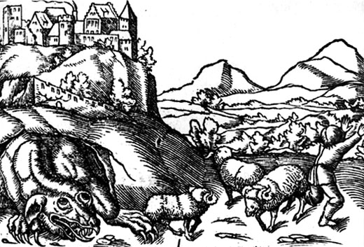 The legend of the Krakow Dragon Photo credit: Wikipedia