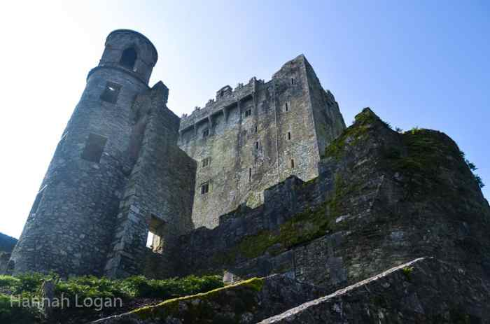 It's a long way down if you fall while trying to kiss the Blarney Stone...