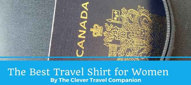 The Best Travel Shirt: Tank Top with 2 Pockets by The Clever Travel Companion