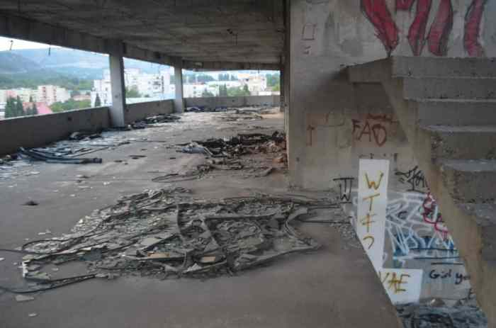 Inside Mostar's Sniper Tower