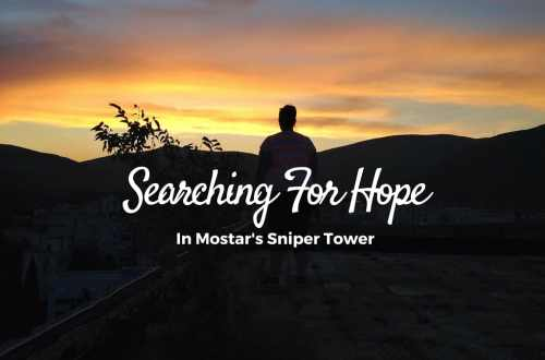 Searching for Hope in Mostar's Sniper