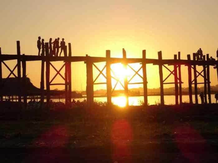 U-Bein Bridge Sunset