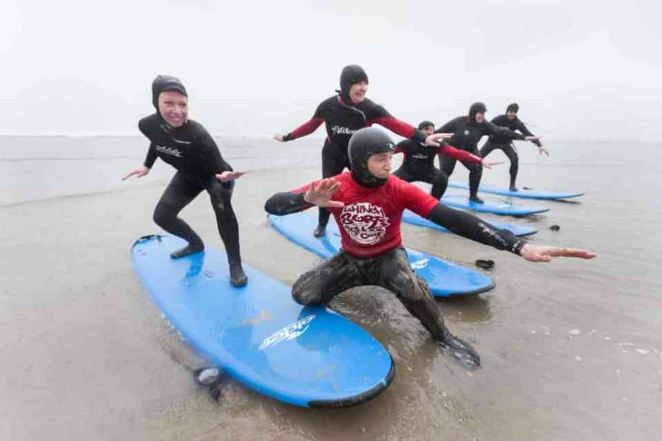 surf lessons Ireland