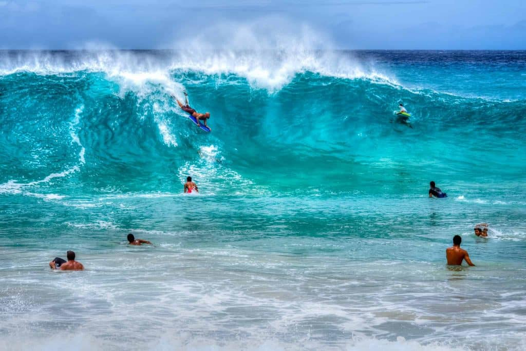 Oahu Surfers