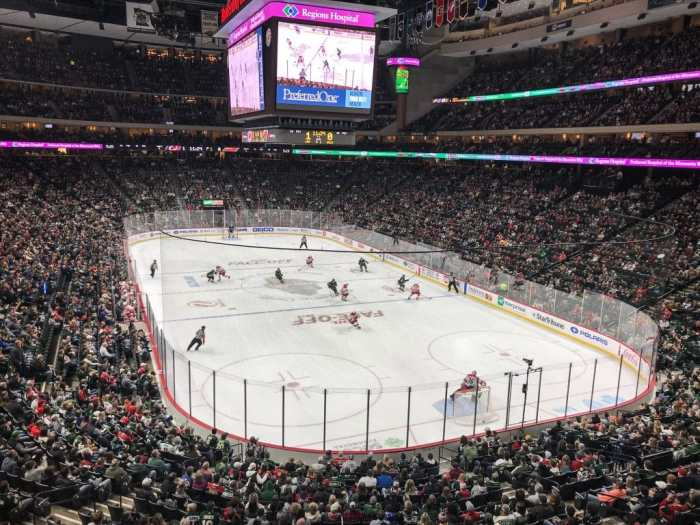 Minnesota Wild Hockey Game