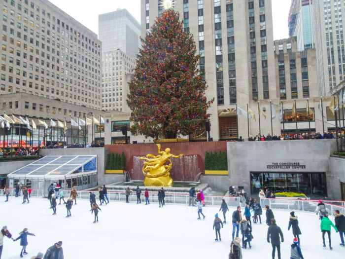 Ice Skating in NYC