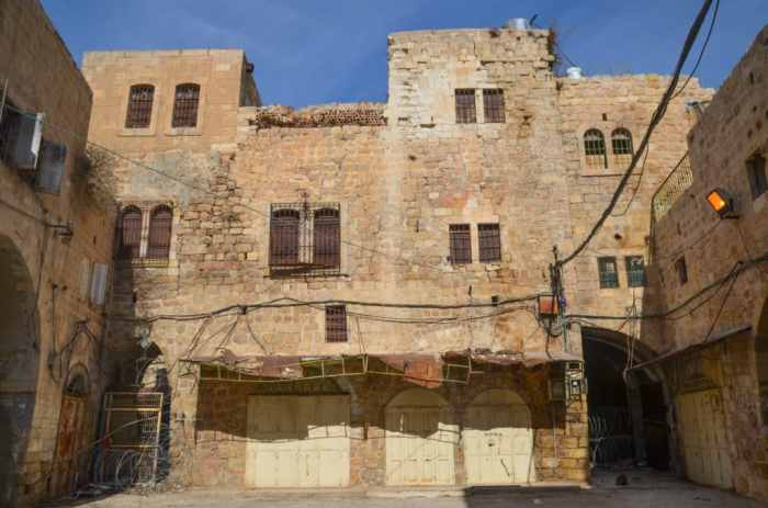 Hebron, Israel side
