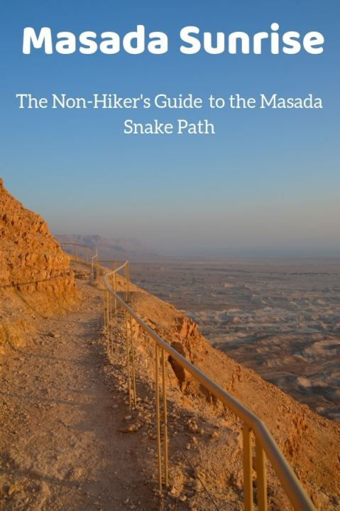 Curious about Masada? Considering hiking the Snake Trail for Sunrise? Give this post a read. #Masada #Israel