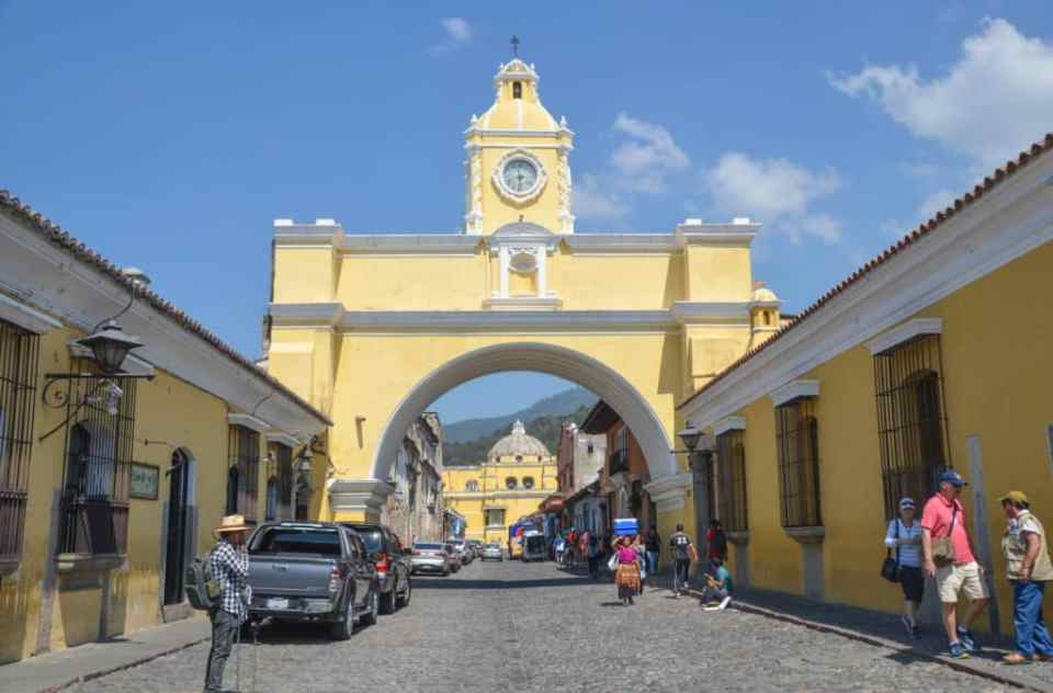 Santa Catalina Arch
