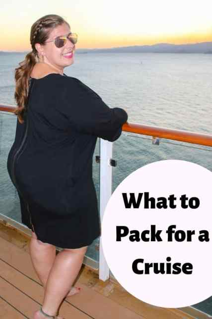 Wondering what to Pack for a Cruise? Here are my cruise packing tips for women headed to warm destinations. #cruising #Packinglist