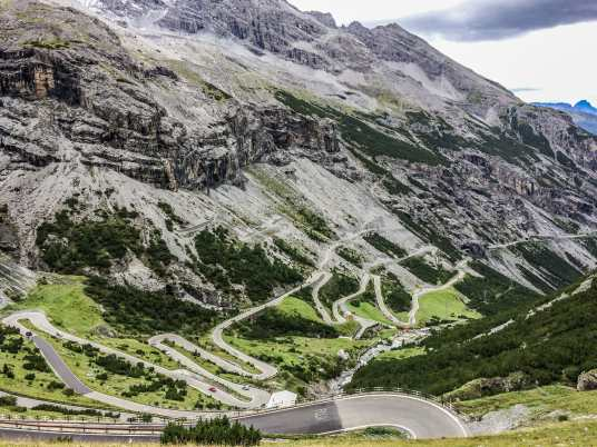 Italy Alps Cycling