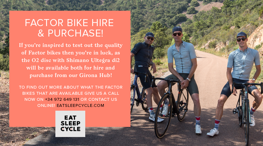 Factor Bike Hire and Purchase - Eat Sleep Cycle