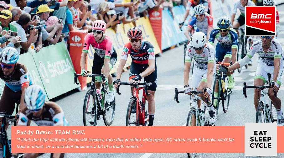 Paddy Bevin - BMC Racing - Tour de France 2019 Route