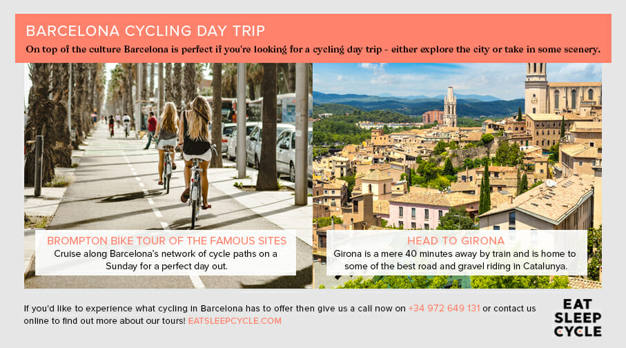 Barcelona Cycling Day Trip - Eat Sleep Cycle